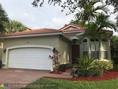 Boynton Beach Single Family Home For Sale: 4126 Woodhill Pl