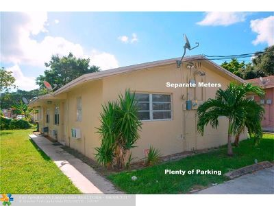 Dania Multi Family Home For Sale: 224 NW 9th Ave