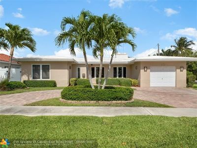 Fort Lauderdale Single Family Home For Sale: 6421 NE 20th Way