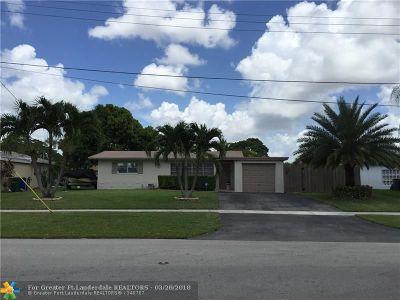 Margate Single Family Home For Sale: 1429 E River Dr