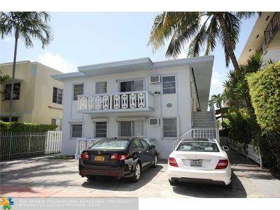 Miami Beach Condo/Townhouse For Sale: 932 Euclid Ave #2