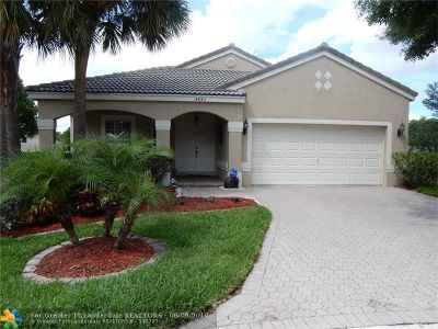 Coconut Creek Single Family Home For Sale: 4845 NW 58th Pl