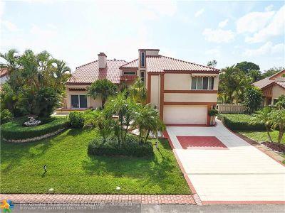 Tamarac Single Family Home For Sale: 7531 Black Olive Way