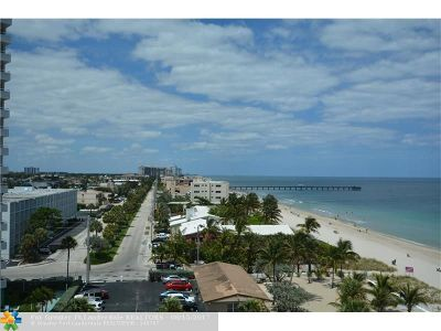 Lauderdale By The Sea Condo/Townhouse For Sale: 3900 N Ocean Dr #11B