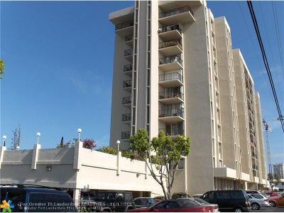 Fort Lauderdale Condo/Townhouse For Sale: 2881 NE 33rd Ct #10c