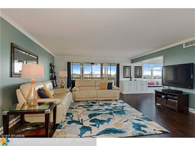 Pompano Beach Condo/Townhouse For Sale: 3095 N Course Dr #806