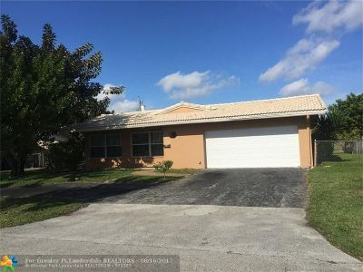Coral Springs Single Family Home For Sale: 4130 NW 78th Ln