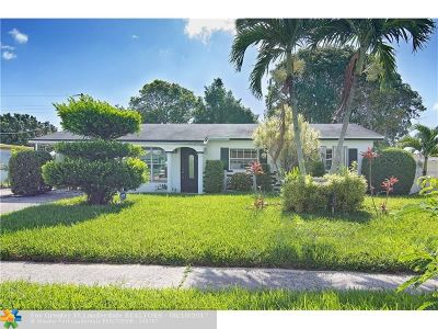 Deerfield Beach Single Family Home For Sale: 406 NW 3rd Ave