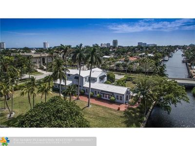Fort Lauderdale Single Family Home For Sale: 407 SE 25th Ave