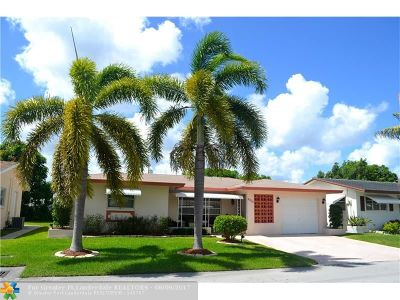 Tamarac Single Family Home For Sale: 4700 NW 44th St