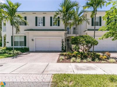 Fort Lauderdale Condo/Townhouse For Sale: 1756 NE 12th St #1756