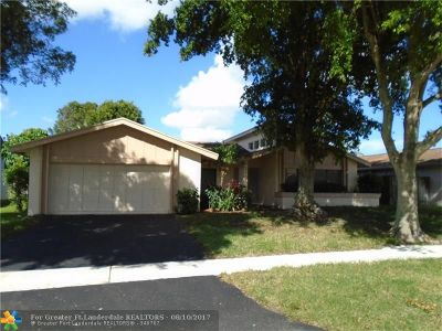 Sunrise Single Family Home For Sale: 3370 NW 97th Ter