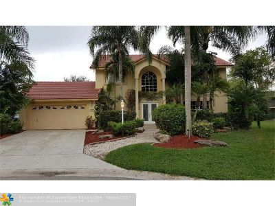 Coral Springs Single Family Home For Sale: 9090 NW 41st Mnr