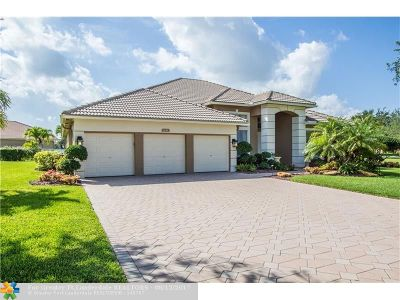 Coral Springs Single Family Home For Sale: 6158 NW 53rd Cir