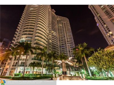 Fort Lauderdale Condo/Townhouse For Sale: 347 N New River Dr E #1511
