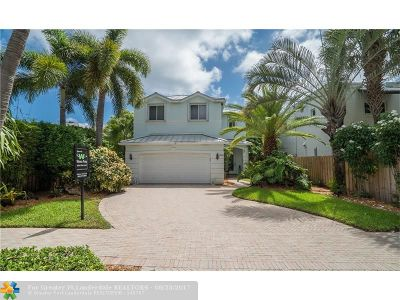 Fort Lauderdale Single Family Home For Sale: 740 NE 17th Wy