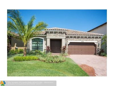 Lake Worth Single Family Home For Sale: 4572 Sandy Cove Terrace