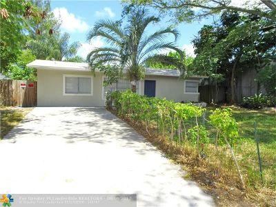 Pompano Beach Single Family Home Backup Contract-Call LA: 1620 NE 1st Ave