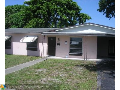 Lauderhill Single Family Home For Sale: 1251 NW 50th Ave