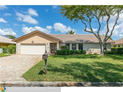 Coral Springs Single Family Home For Sale: 10899 NW 14th St