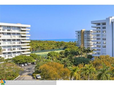 Key Biscayne Condo/Townhouse For Sale: 170 Ocean Lane Dr #907
