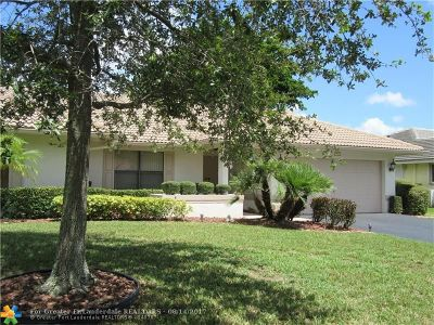 Coral Springs Single Family Home Backup Contract-Call LA: 2089 NW 86th Way