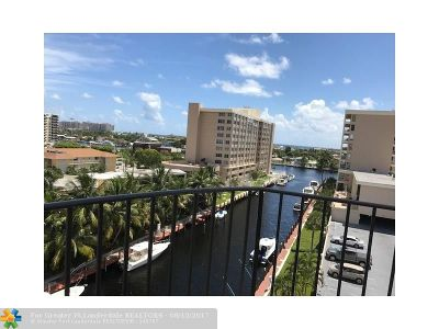 Fort Lauderdale Condo/Townhouse For Sale: 3051 NE 48th St #710