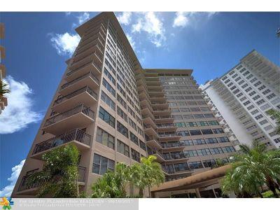 Fort Lauderdale Condo/Townhouse For Sale: 3800 Galt Ocean Dr #211