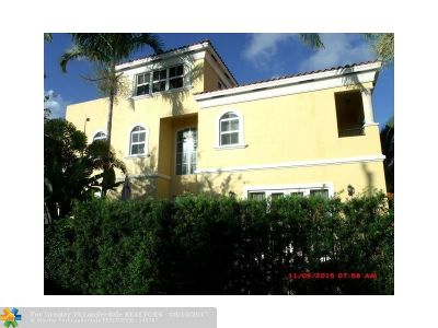 Fort Lauderdale Condo/Townhouse For Sale: 837 NE 16th Ter #837