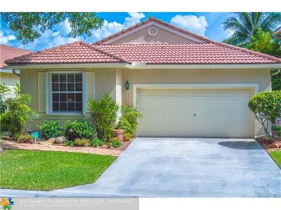 Coral Springs Single Family Home For Sale: 11145 NW 46th Dr