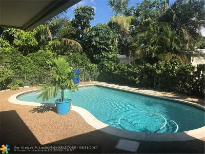 Broward County Single Family Home For Sale: 6210 NW 14th Pl