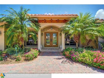 Fort Lauderdale Single Family Home For Sale: 3020 NE 58th Street