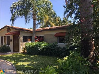Fort Lauderdale Single Family Home For Sale: 1028 NE 16th Ave