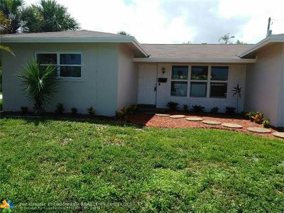 Oakland Park Single Family Home For Sale: 4401 NW 19th Ter