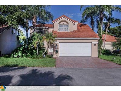 Davie Single Family Home For Sale: 2857 Oak Park Cir