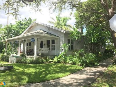 Fort Lauderdale Single Family Home For Sale: 543 N Victoria Park Rd