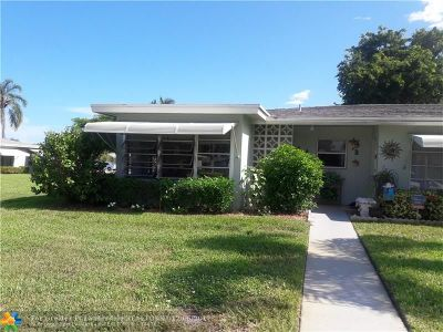 Delray Beach Condo/Townhouse For Sale: 612 High Point Blvd #A