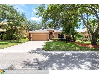 Coral Springs Single Family Home Backup Contract-Call LA: 5756 NW 48th Dr
