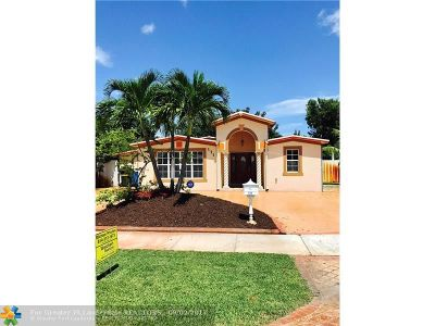 Oakland Park Single Family Home For Sale: 171 NE 59th Ct