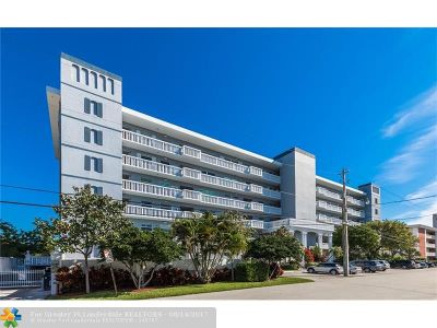 Fort Lauderdale Condo/Townhouse For Sale: 2829 NE 33rd Ct #502