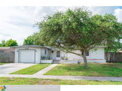 North Lauderdale Single Family Home For Sale: 6760 SW 10th St
