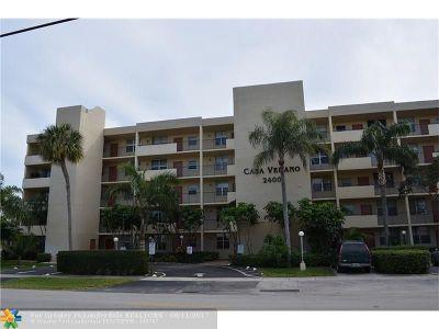 Pompano Beach Condo/Townhouse For Sale: 2400 NE 10th St #404