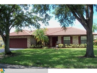 Coral Springs Single Family Home For Sale: 11142 NW 5th Mnr