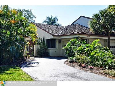Plantation Condo/Townhouse Backup Contract-Call LA: 309 NW 95 Av #309