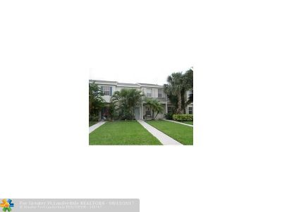 Tamarac Condo/Townhouse Backup Contract-Call LA: 8249 San Carlos Cir #8249