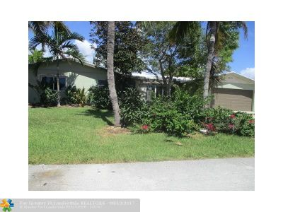Lighthouse Point Single Family Home For Sale: 4271 NE 24th Ave
