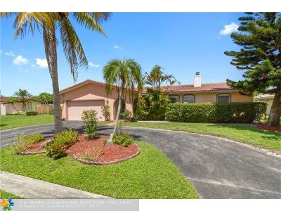 Coral Springs Single Family Home Backup Contract-Call LA: 2352 NW 120th Ln