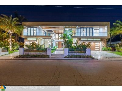 Fort Lauderdale Single Family Home For Sale: 640 Isle Of Palms Dr