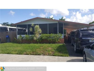 Fort Lauderdale Single Family Home For Sale: 3020 SW 50th St