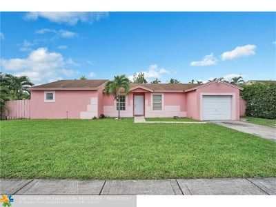 Hialeah Single Family Home For Sale: 20012 NW 57th Pl